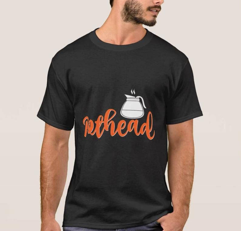Coffee-pot-head T-shirt