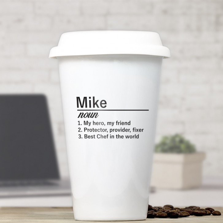 Personalized Ceramic Coffee Cup Gift