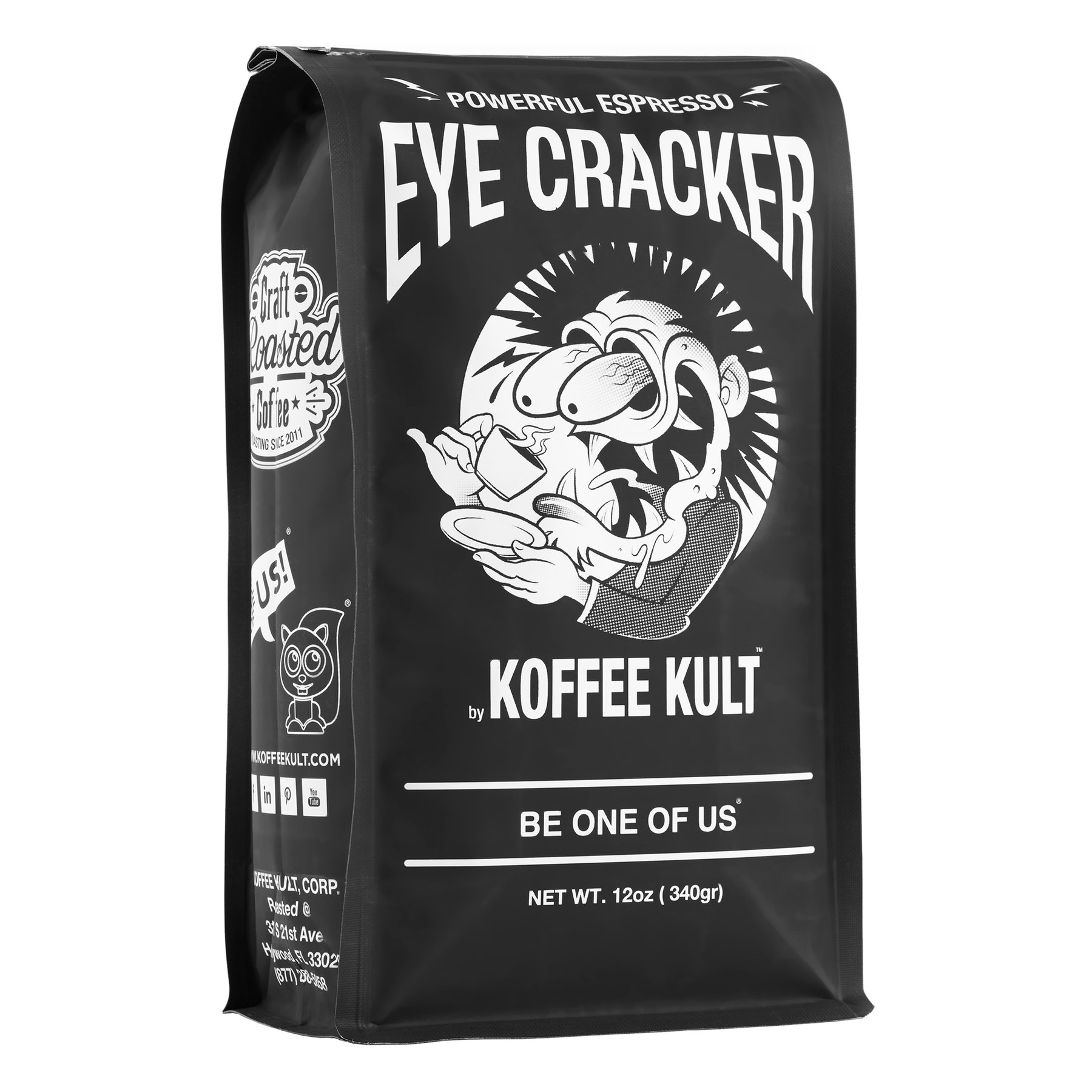 Powerful Espresso Coffee by Coffee Kult