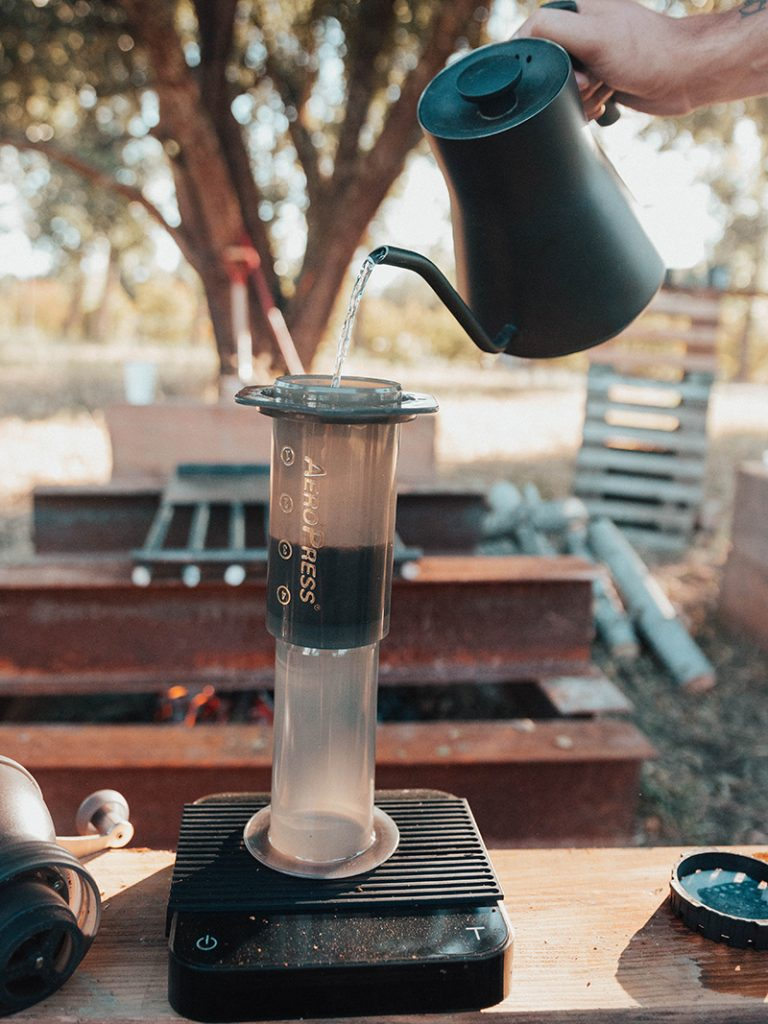 Upside-Down AeroPress Technique