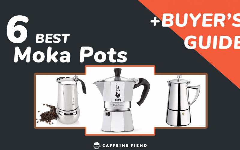 the 6 best moka pots ranked on caffeinefiend.co