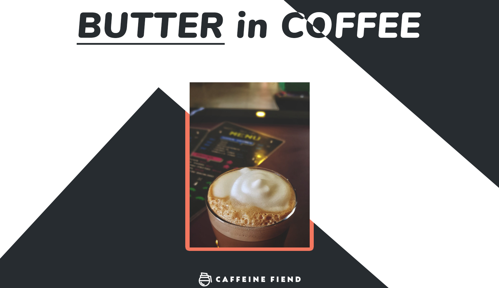 butter in coffee article