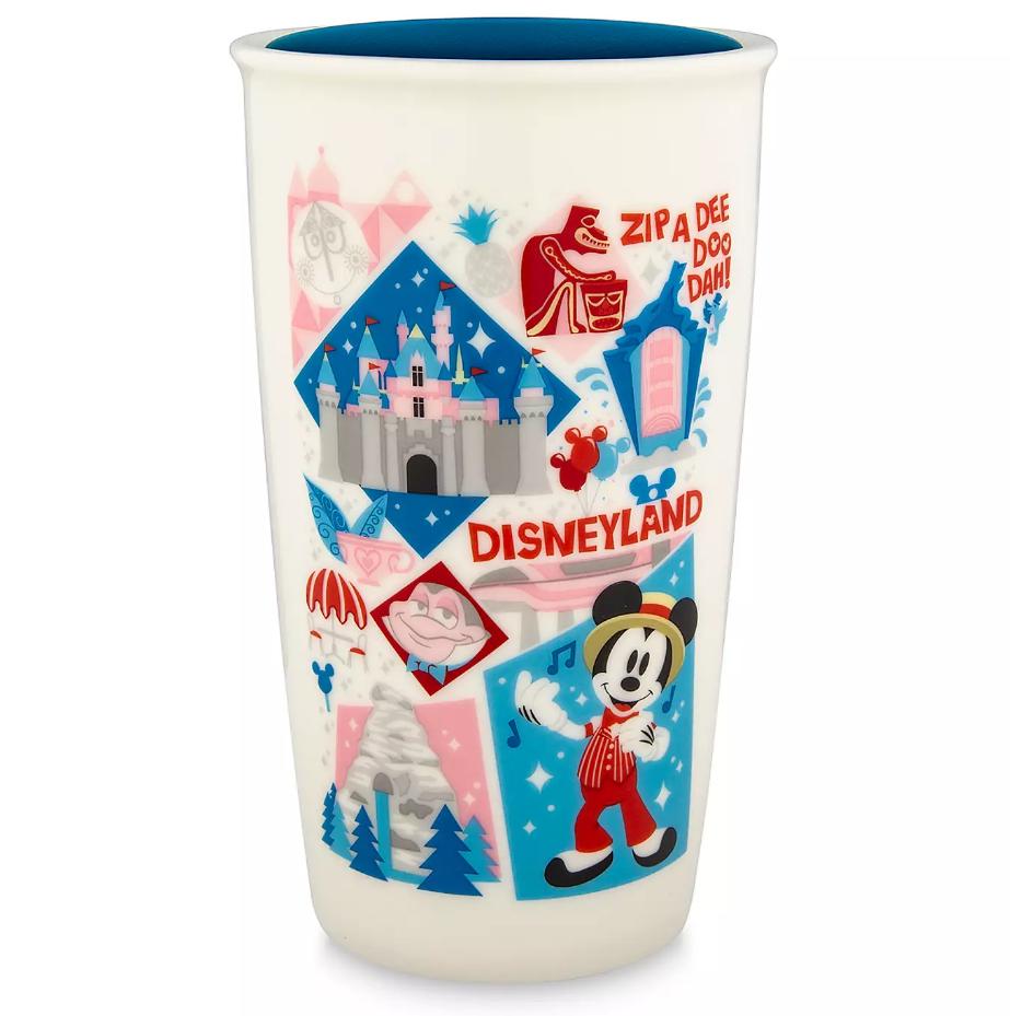 Disney Starbucks Ceramic Travel Tumbler