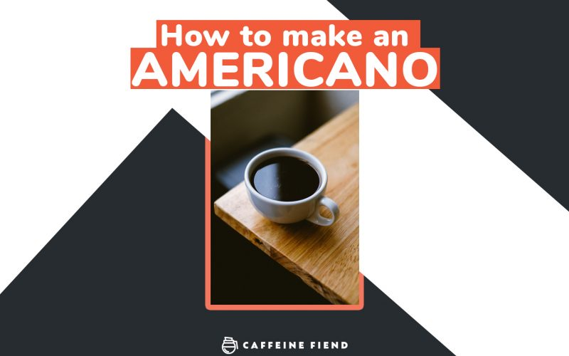 How to make an Americano guide on Caffeine Fiend