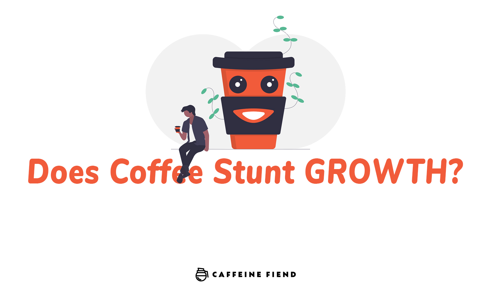 does coffee stunt growth article on caffeine fiend