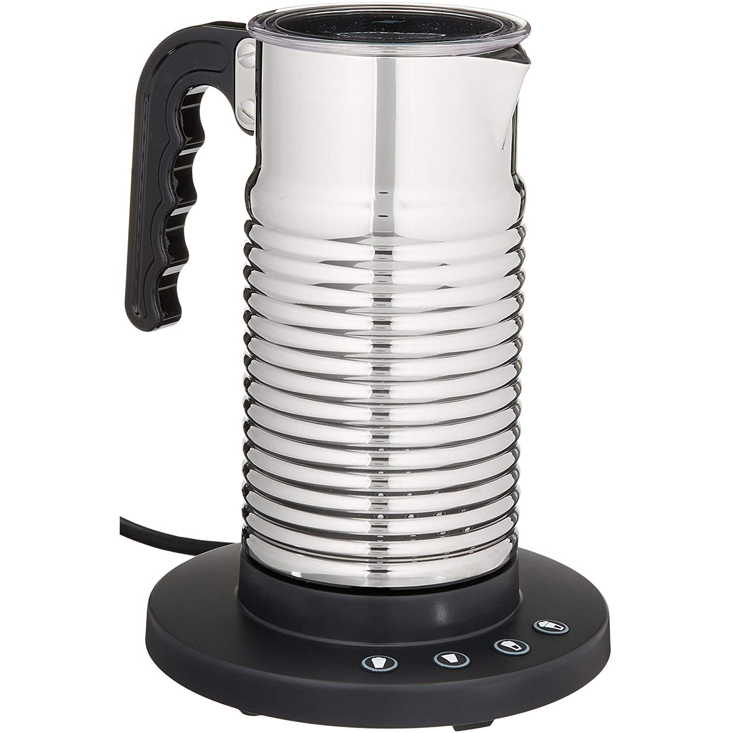 An electric milk frother from Nespresso