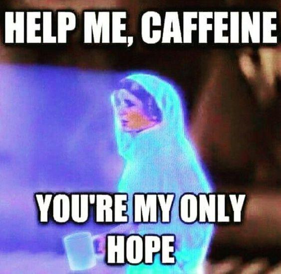Star wars coffee meme