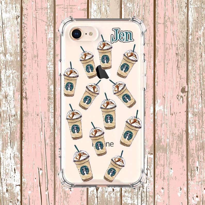 custom starbucks phone cases