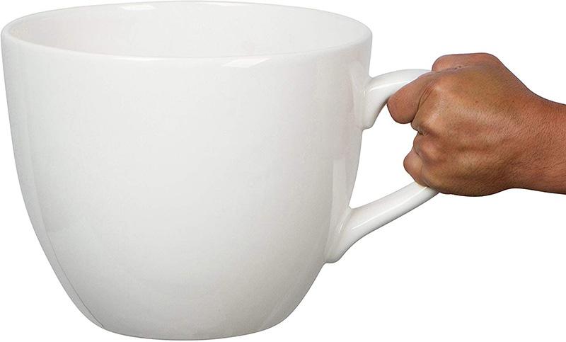 the massive mug, a funny coffee lover gift